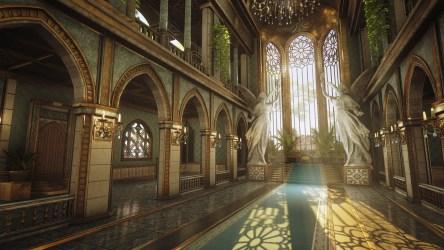 Palace Throne Room Fantasy Art