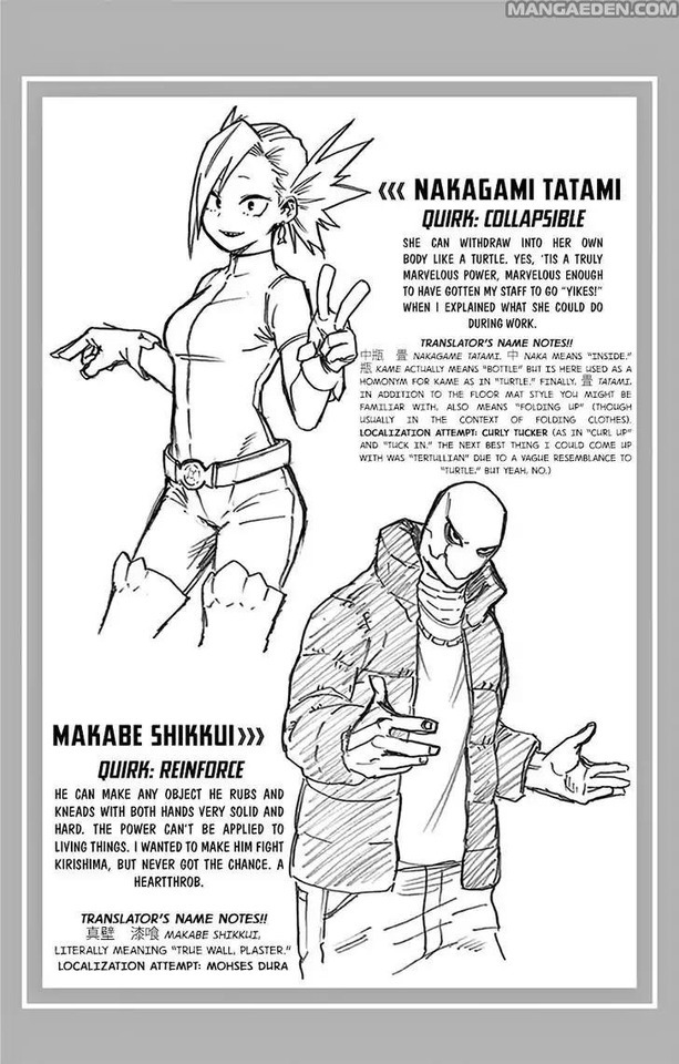 Bnha-L0Ver — BNHA Character & Quirk Info. #9