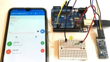 Arduino Library for GATT Peripheral With HC-05 Module – DIY Robots