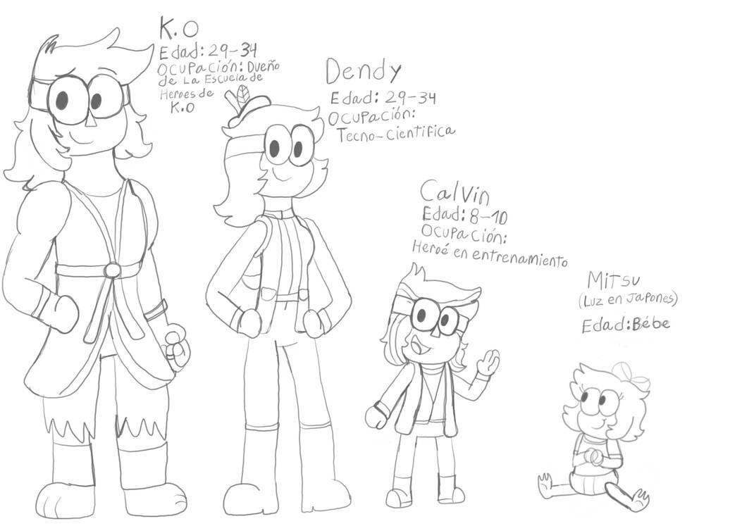 OK KO The Future Heroes Blog — Meet K.O family K.O is a