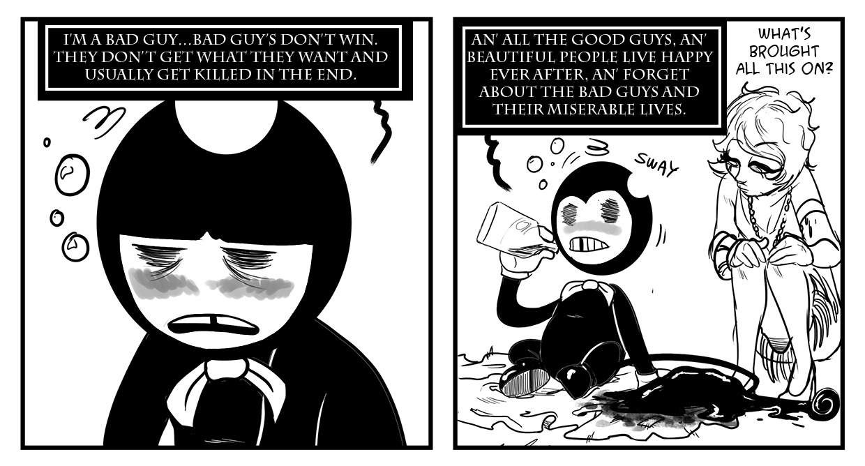 Fan And Ink And Machine Characters Bonnie Dylan Bendy