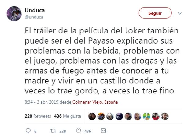 El Joker vive con tu madre