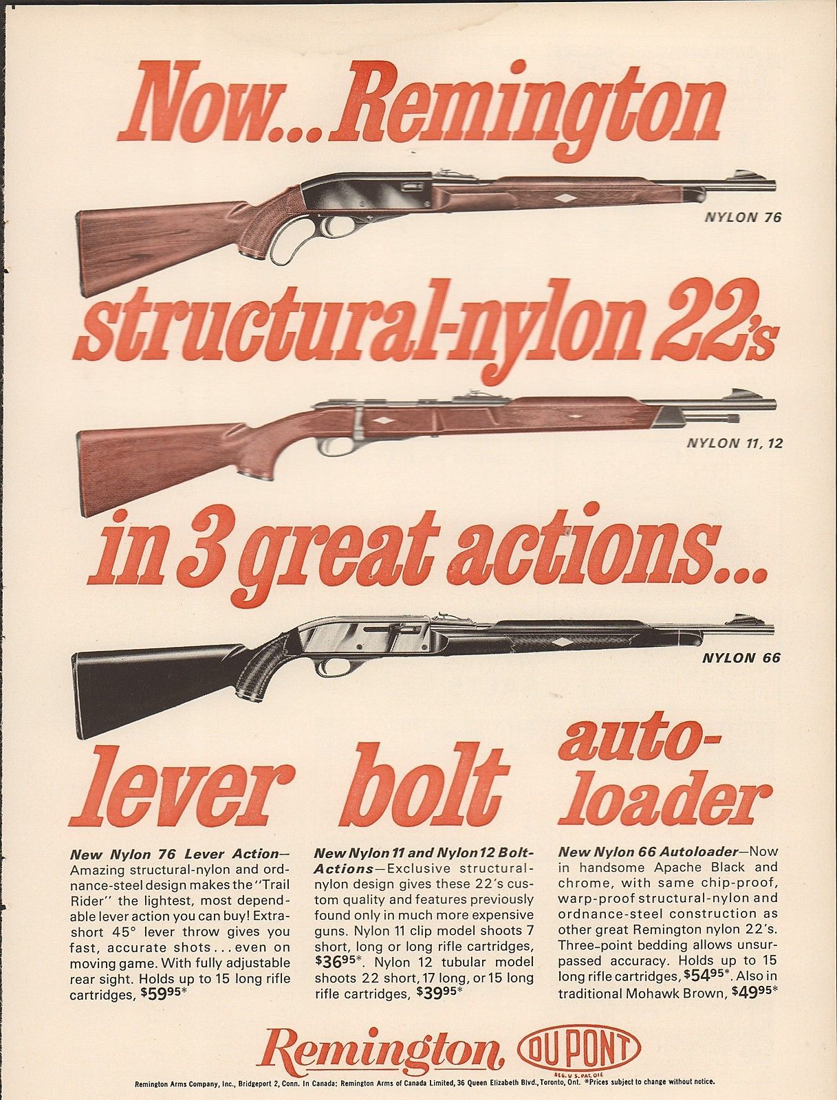 hight resolution of the first polymer gun remington nylon 66