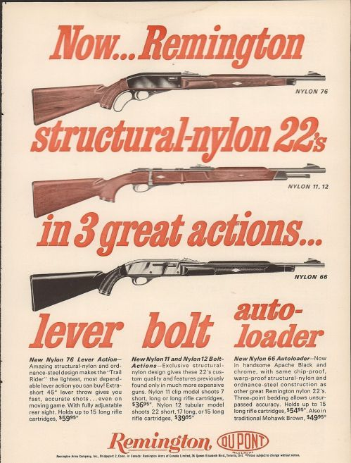 small resolution of the first polymer gun remington nylon 66