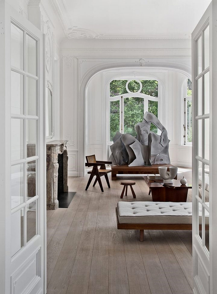 SCANDINAVIAN COLLECTORS  Interior in Brussels Belgium by