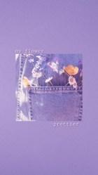 purple lavender cartoon phone icons paxks