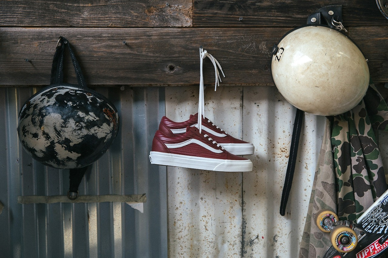 "(via Vans Classics ""Moto Leather"" Collection | HYPEBEAST)"