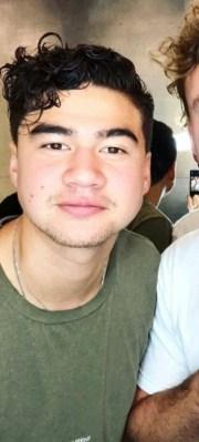 michael clifford green hair