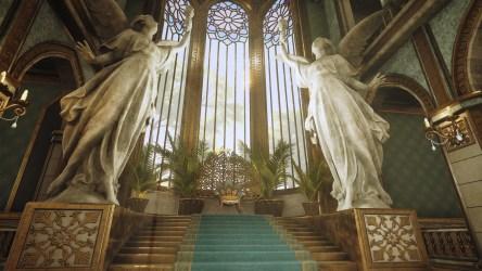 throne room fantasy final forest elven