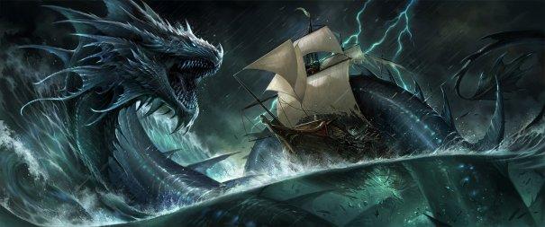 sea dragon – Fantasy