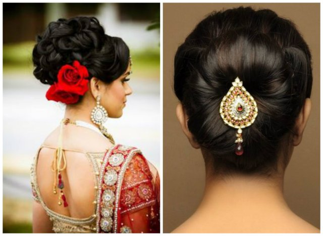 wedding culture — hairstyle ideas for a kerala bride with
