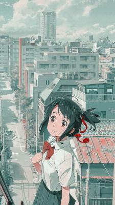 12 Aesthetic Anime City Wallpaper Iphone Baka Wallpaper