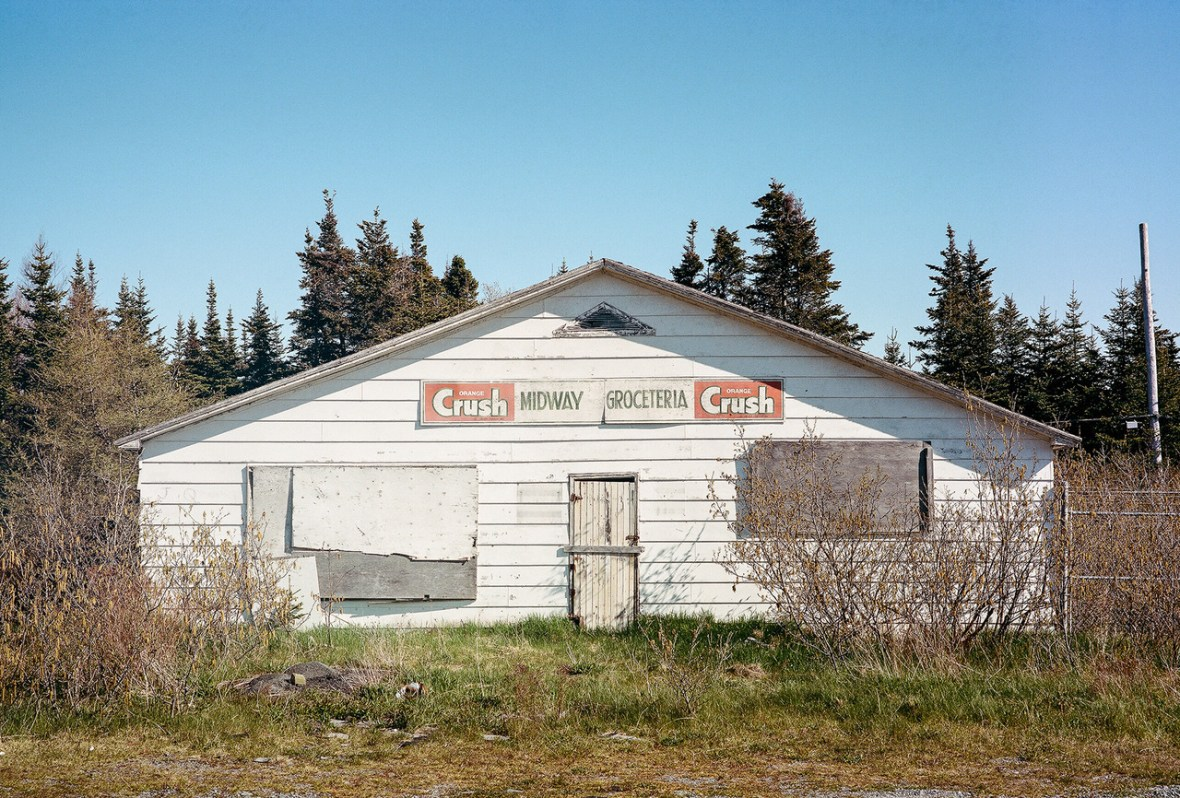 Midway Groceteria - The Irish Loop, Newfoundland, Canada - 1978