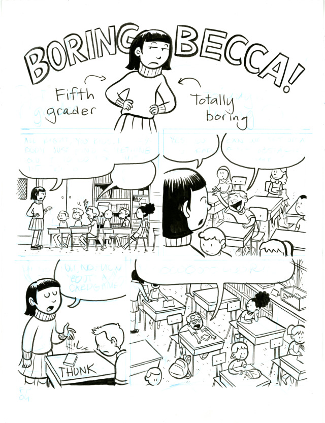 Raina's Thing (From COMICS SQUAD: RECESS! // July, 2014