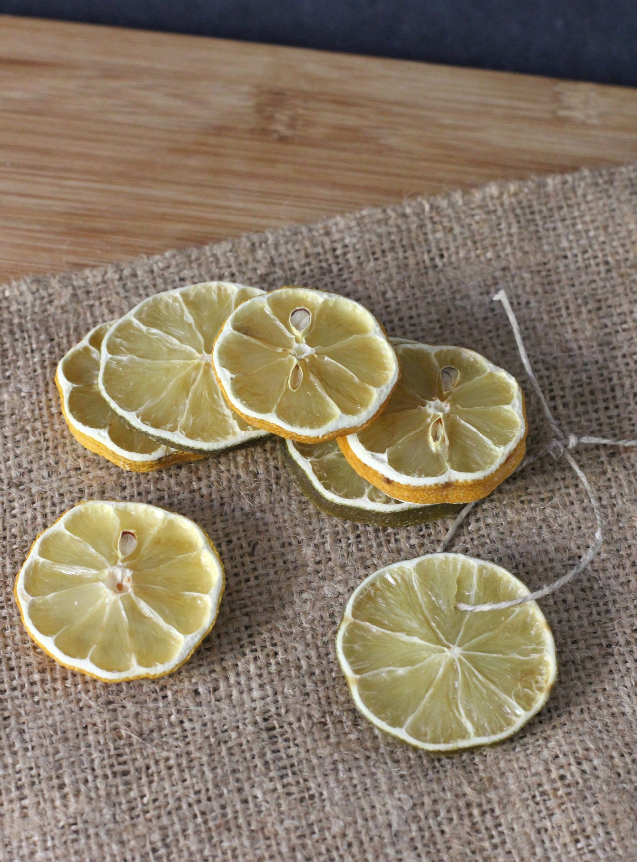 Decorative Dried Lemon and Lime Slices Dried  Daily