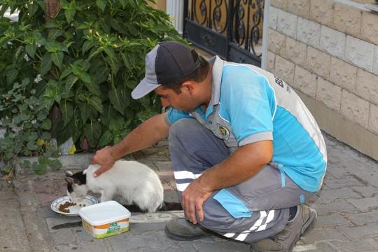 BUCA Belediye işçisinden Sevginin böylesi