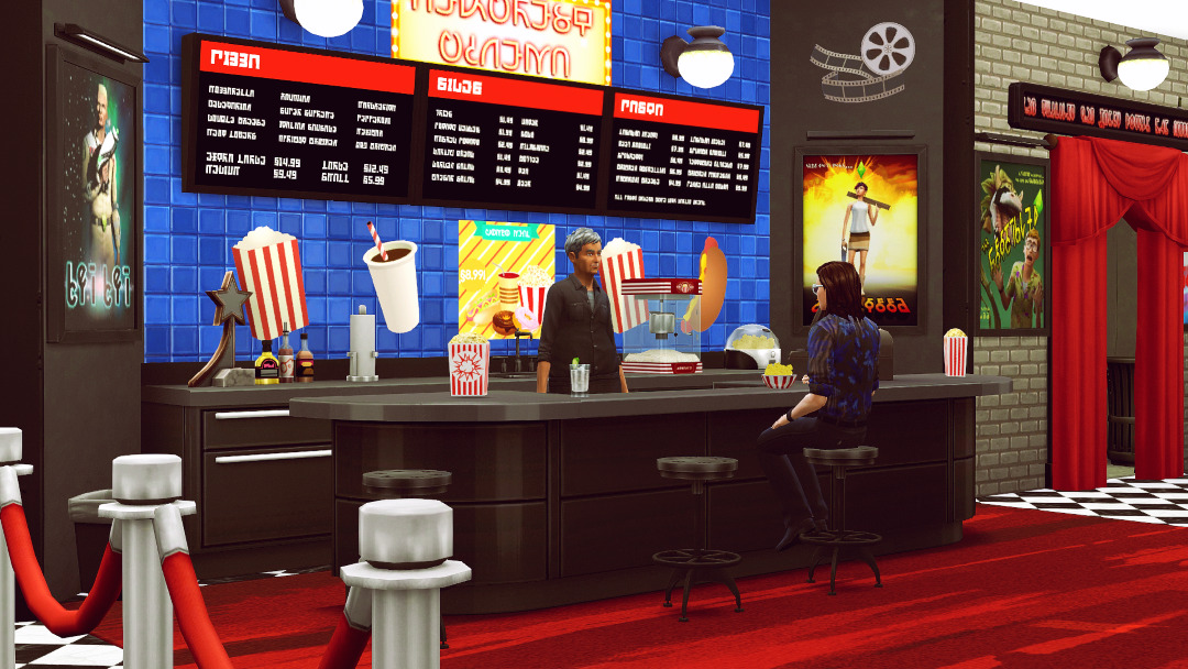 jenbasims  By request here is the Newcrest Cinema