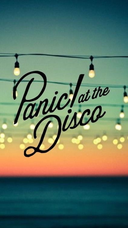Mcr Panic At The Disco Fall Out Boy Wallpaper Panic At The Disco Logo Tumblr