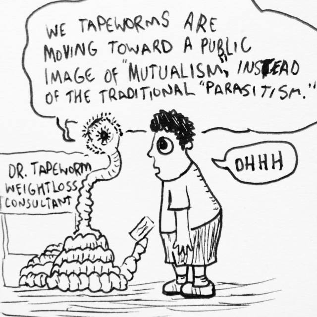 underdone comics — Dr. Tapeworm, Weight Loss Consultant #