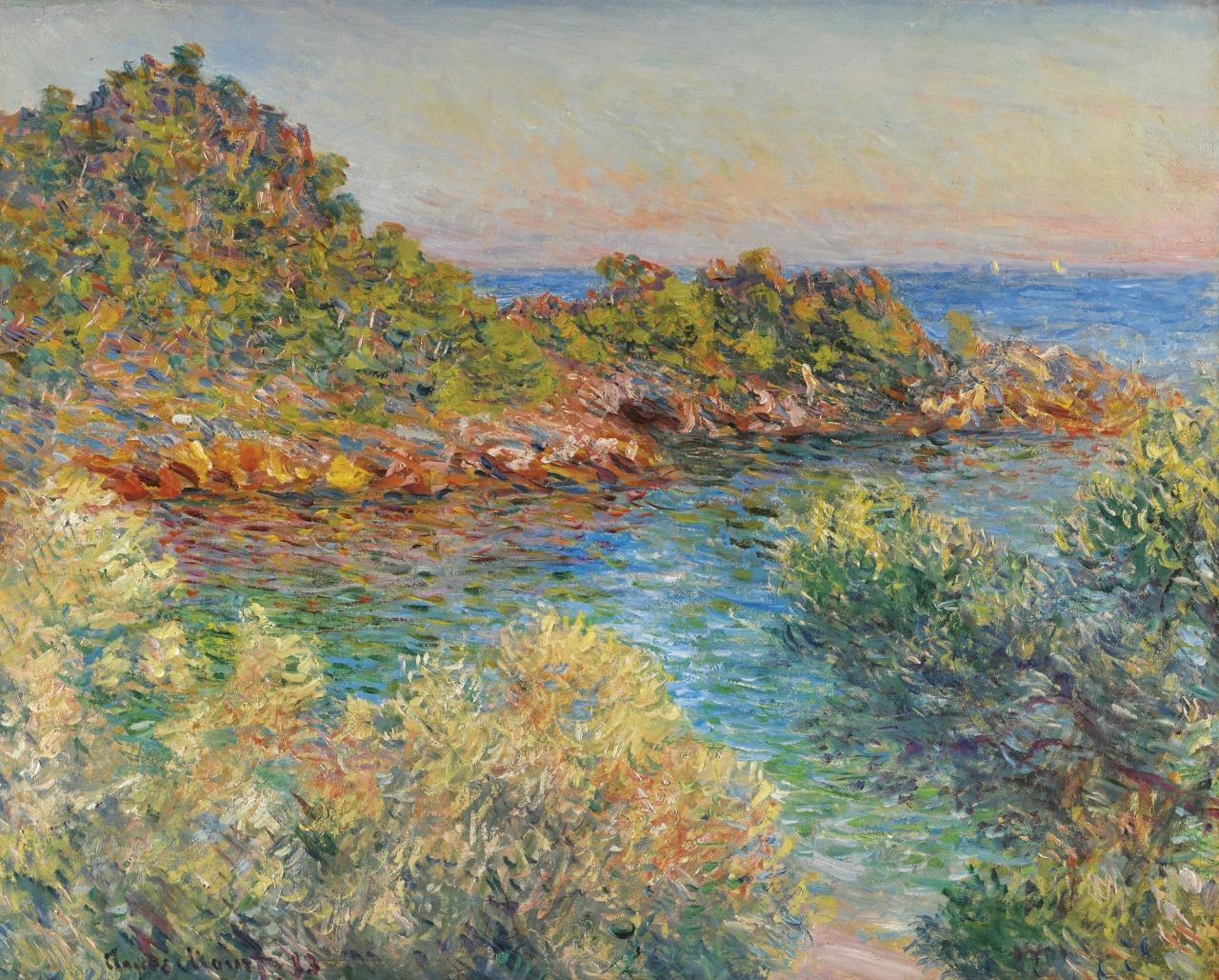 """artexpert: """" Près Monte-Carlo (1883) - Claude Monet """""""