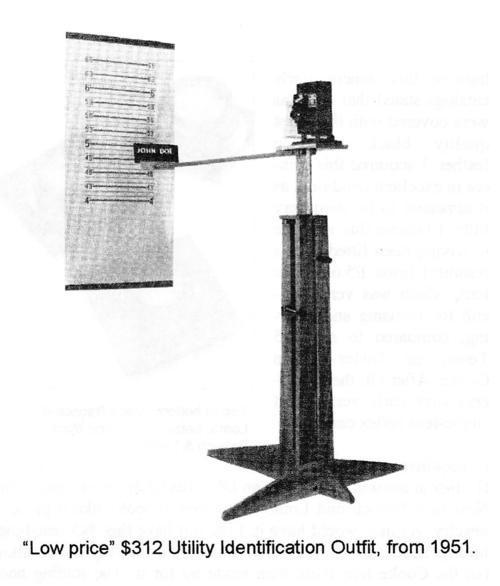 Graflex — Graflex Photorecord Microfilm and ID Camera