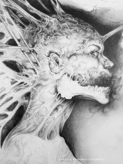 creepy drawing tumblr
