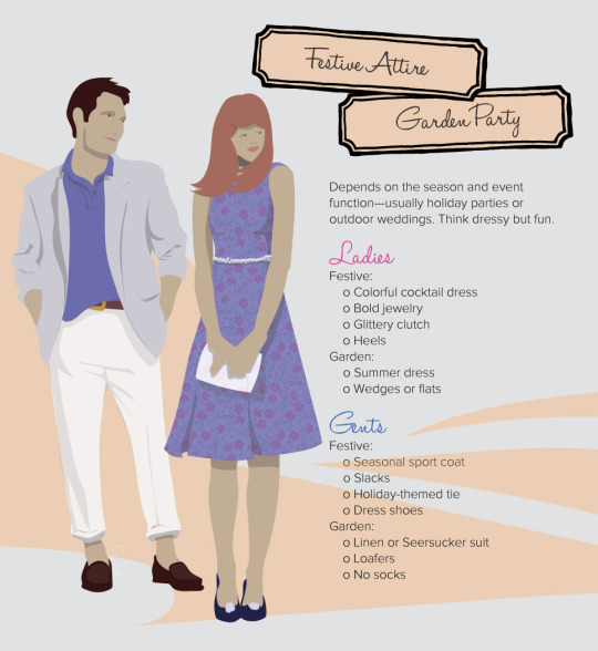 decoding dress code festive attire garden party