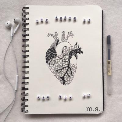 heart drawing tumblr