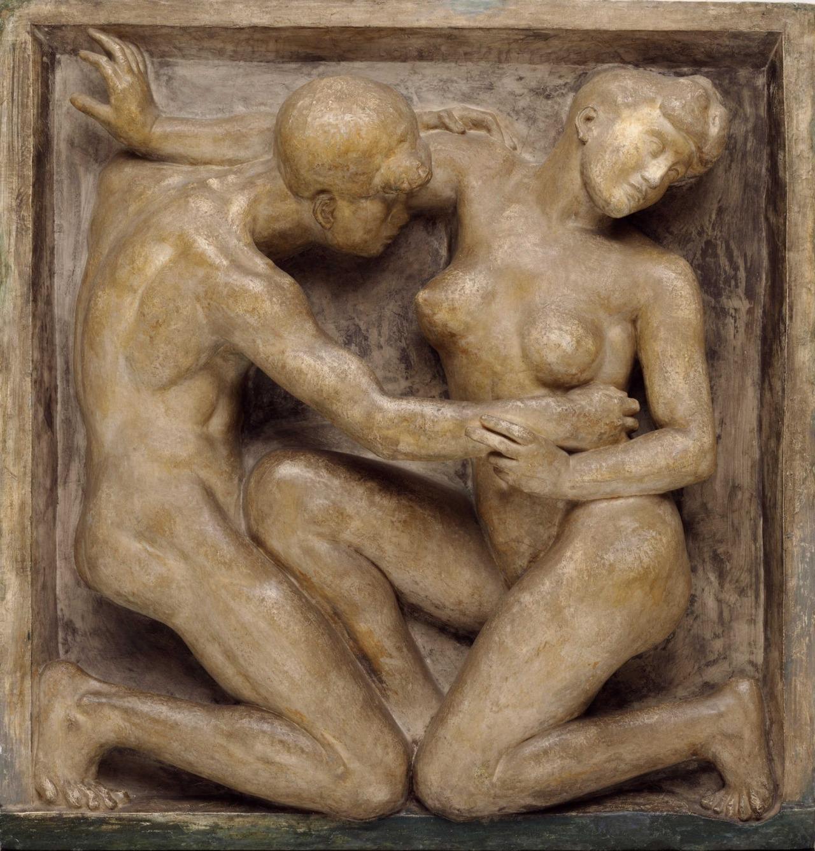 """amare-habeo: """"  Aristide Maillol (French, 1861-1944) Desire, 1906–1908 Bronze, 119 x 114,3 cm """""""