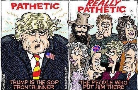 Image result for trump tea party cartoons