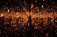 lauren farmer  Yayoi Kusama Light Installation at the ...