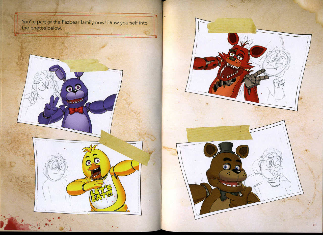 Five Nights Freddys Drawings