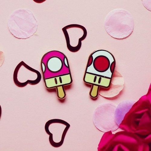 super mario popsicle pins