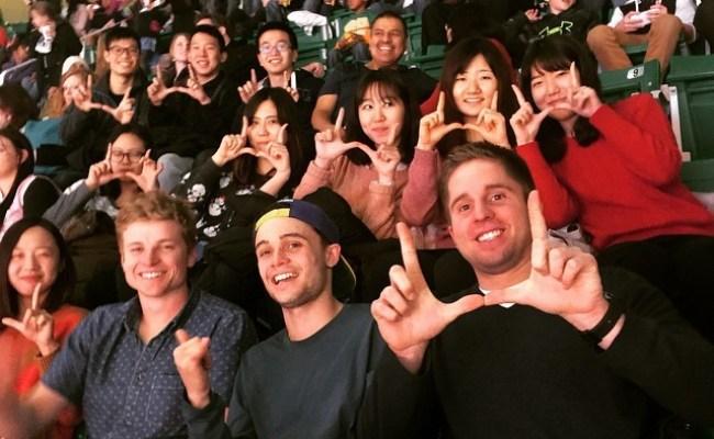 Utah Abroad Exchange Students First Jazz Game Gouofu