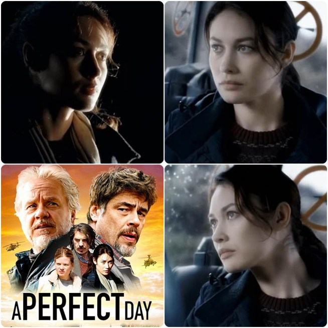 Olga Kurylenko,Benicio del Toro,Tim Robbins,Mélanie Thierry,A Perfect Day,Mükemmel Bir Gün, Fernando León de Aranoa,2015, İspanyol, Paula Farias,Dejarse Llover,İngilizce,Sırpça,İspanyolca,Fransızca,Boşnakça,Katya,Um Dia Perfeito,Перфектен ден,A Perfect Day: un jour comme un autre,A Perfect Day: un jour comme un autre,El pozo,Olga Kurylenko,Olga Kostyantynivna Kurylenko, Ольга Костянтинівна Куриленко,1979,L'Annulaire ,Le Porte-bonheur,The Serpent,Suspectes,Hitman,Max Payne,Tyranny,Quantum of Solace,Centurion,The Cross,There Be Dragons,Oblivion ,November Man ,The Water Diviner,The Water Diviner,Son Umut,A Perfect Day,Mükemmel Bir Gün,Katya,Vampire Academy,Magic City,Filmografi,