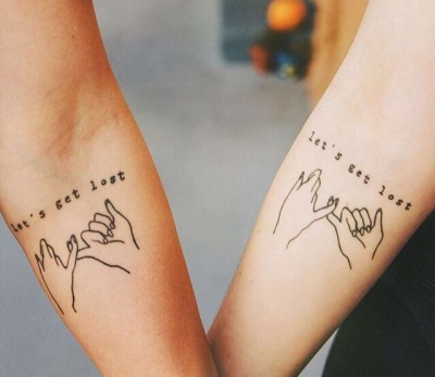 Best Friend Matching Tattoos Tumblr