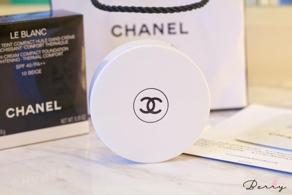 Berry — 底妝 香奈兒Chanel「珍珠光感精萃水凝粉餅」,乳霜般的超水潤粉餅