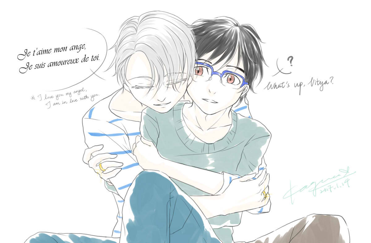 Maon!!! on ICE — concept: After Yuuri moved to St Petersburg he...