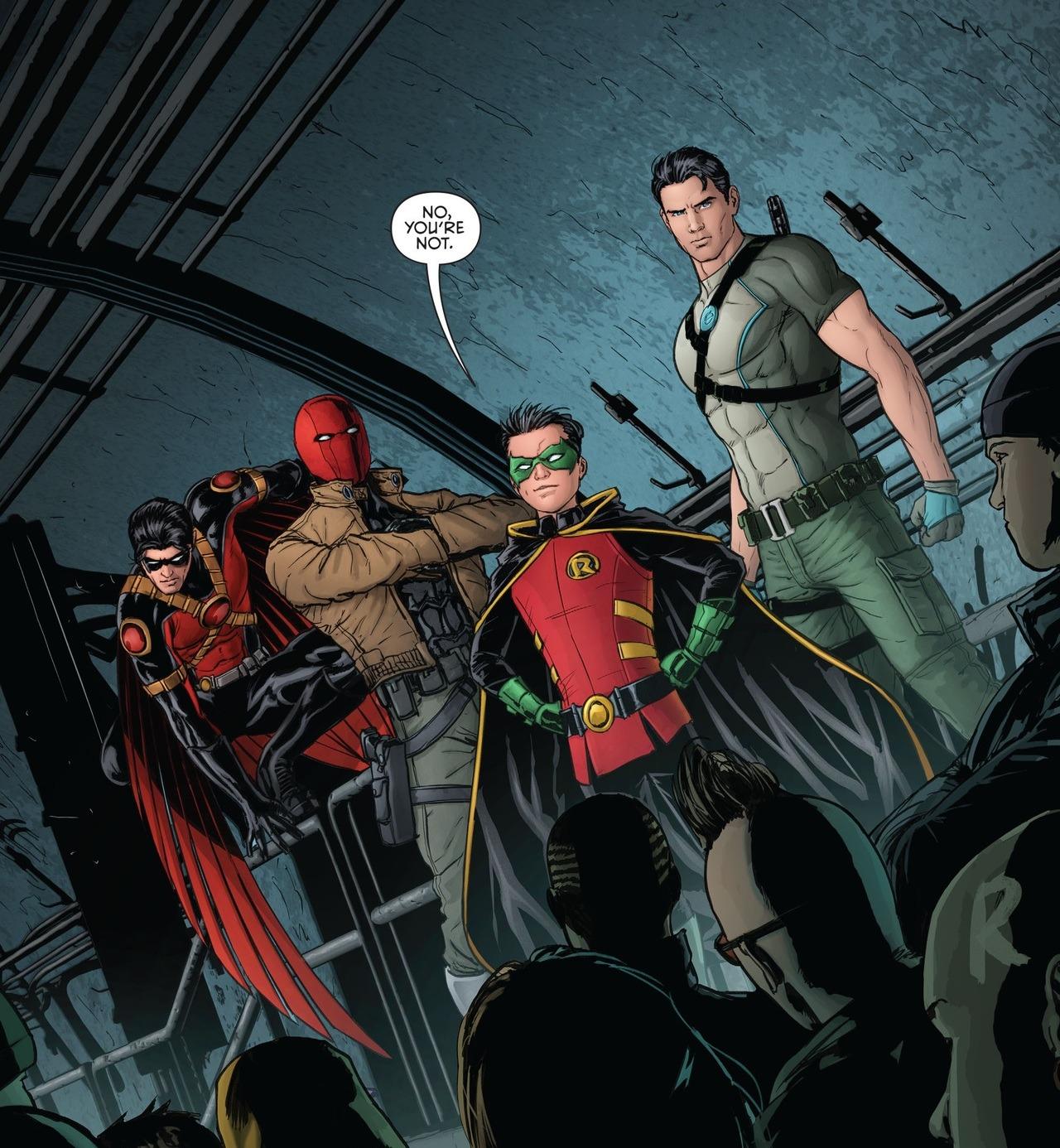 Red Robin X Reader