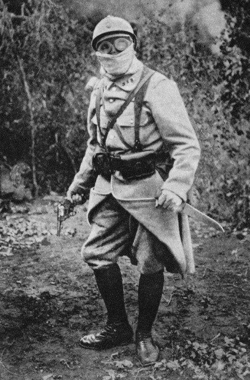 WW1 French trench raider, 1915 via reddit The… – History
