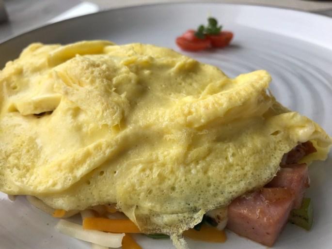 Three-egg omelet