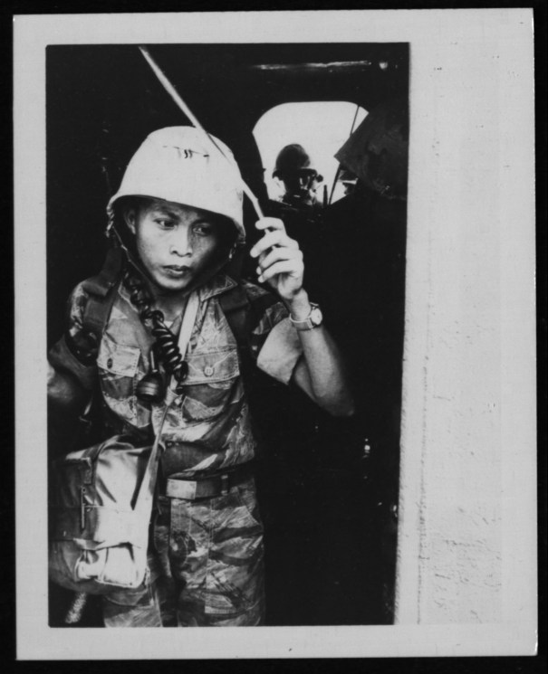 Vietnamese marine radio operator, 1962 From the… – Vietnam War