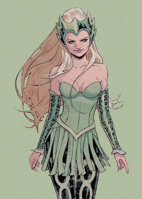 Hela Lady Sif Enchantress by tonyperna on @DeviantArt ... | 846x605