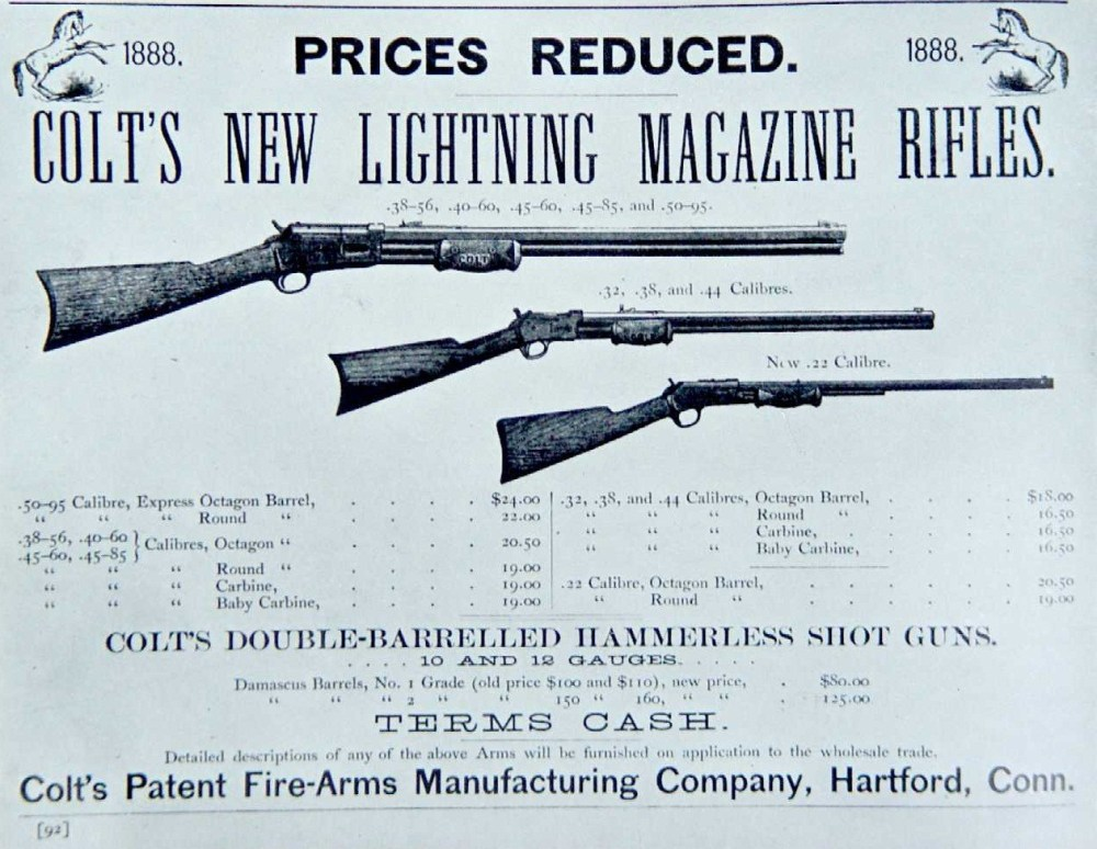 medium resolution of historical firearms colt lightning in the 1880s colt not content with