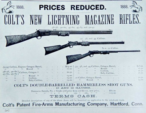 small resolution of historical firearms colt lightning in the 1880s colt not content with