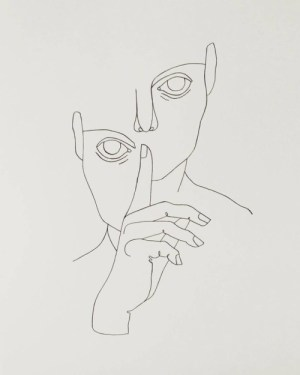 line minimalism drawing face abstract simple sketches aesthetic drawings minimal sketch picasso minimalist canvas tattoo illustrations short статуи тату painting