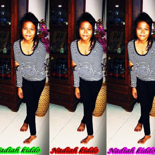 Your Baby Chikaro ♥ Nadiahh Kiddo ♥. I hate youhhh . youhh lied to me aqain . How couLd...