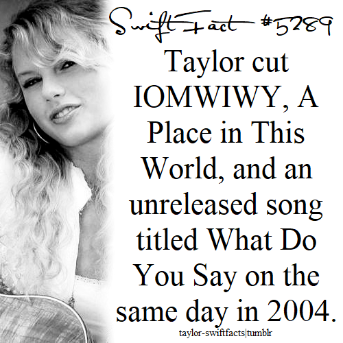 what do you say – Taylor Swift