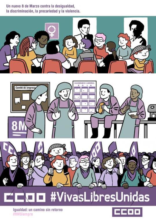 """8 de Marzo de 2019: la """"Revolución Violeta"""""""