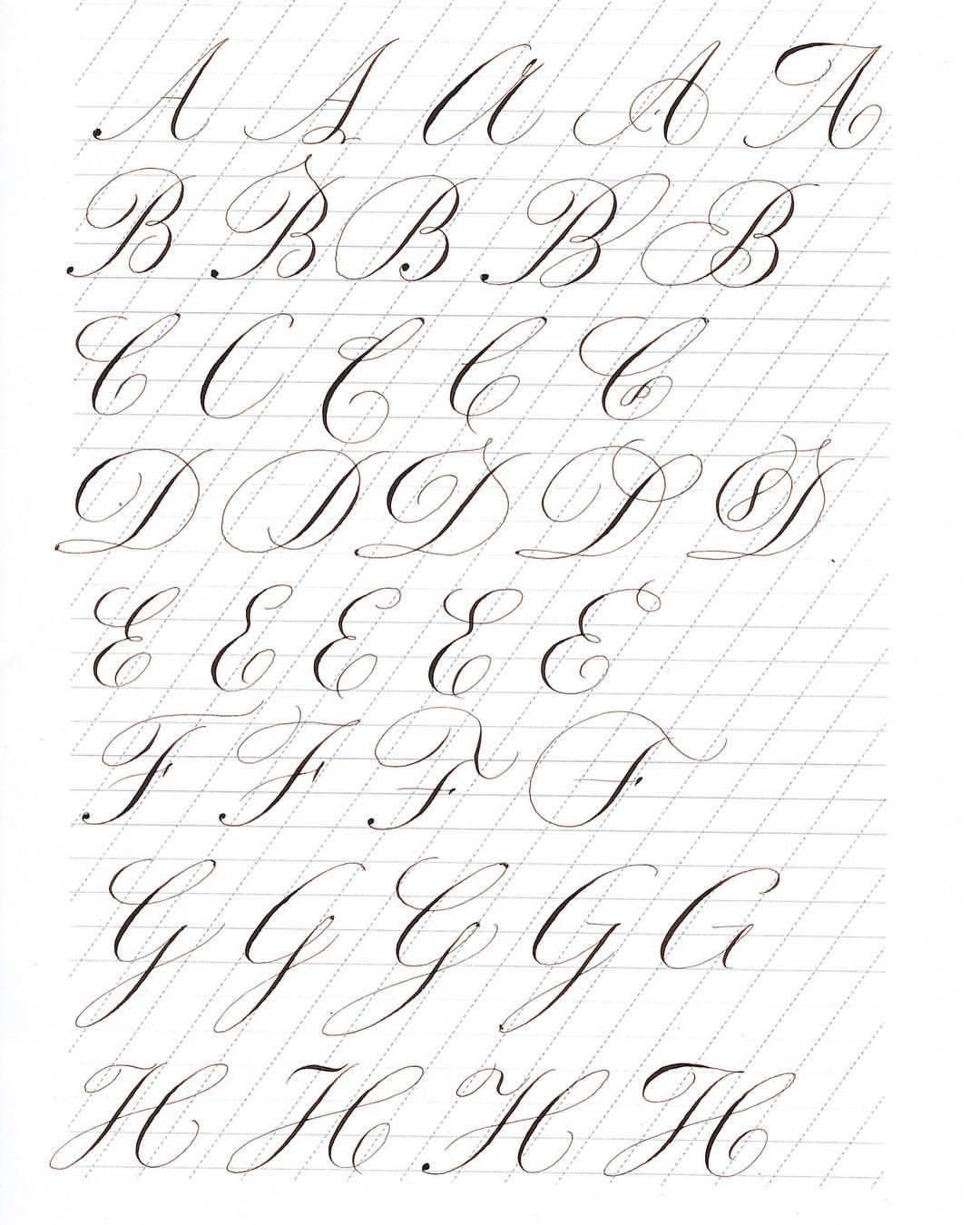 Calligraphy A To Z : calligraphy, Calligraphy, Letter